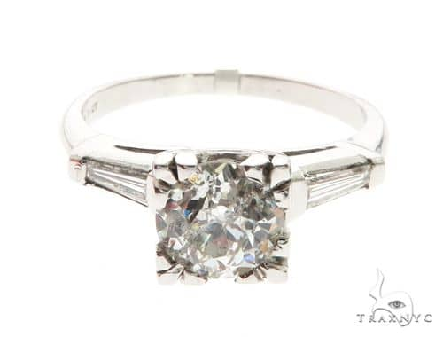 Platinum Prong Diamond Ring 63712 Anniversary/Fashion