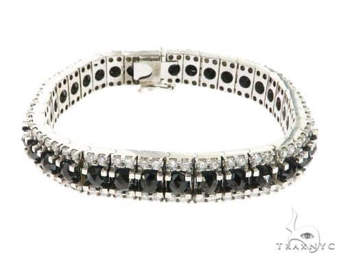 10K White Gold Prong Diamond Bracelet 63747 Diamond