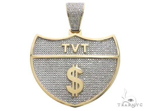 Custom Made Interstate TVT Dollar Sign Pendant Metal