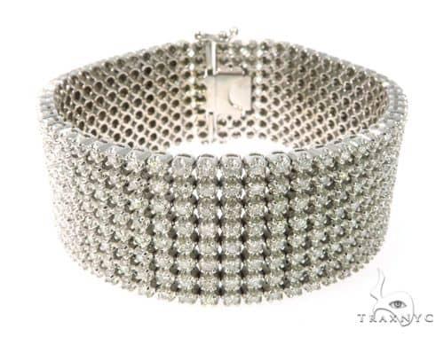 Prong Diamond Bracelet 63784 Diamond