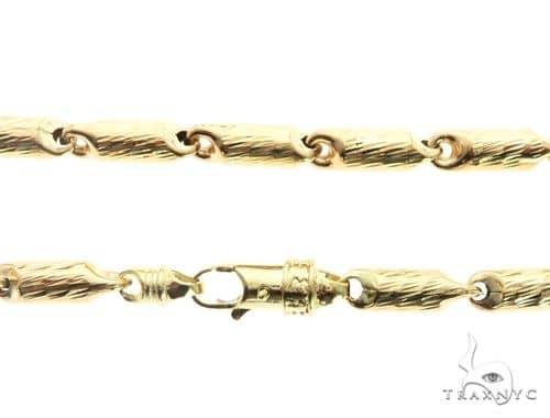 10K Yellow Gold 6MM Round Bracelet 63820 Gold