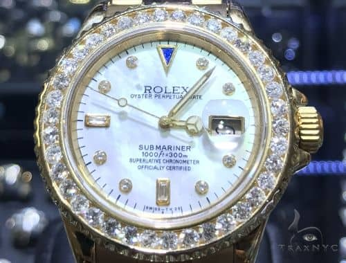Submariner Diamond Rolex Watch 63868 Diamond Rolex Watch Collection