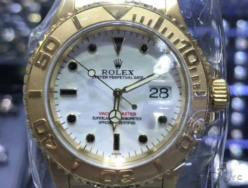 Rolex Yacht Master Watch Oyster Perpetual Date 63869 Diamond Rolex Watch Collection