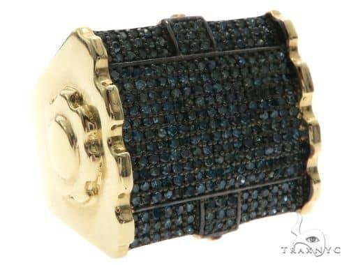 Blue Diamond Ring 63883 Stone
