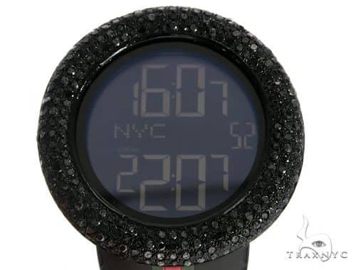 Black Diamond Gucci Watch 63937 Gucci