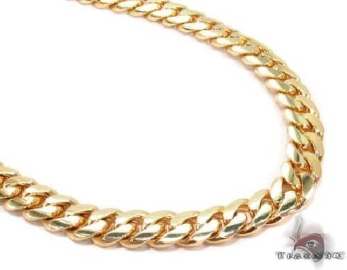 Miami Cuban Link Chain 32 Inches 13mm 461.7 Grams 63939 Gold