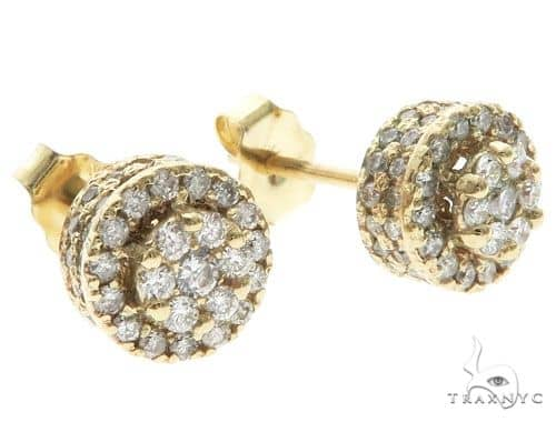 Diamond Earrings 63964 Stone