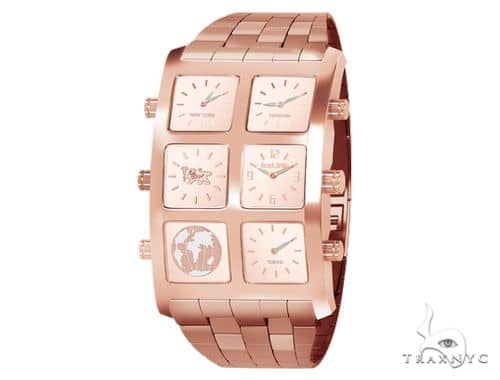 IceLink Yerevan Edition Aria 6TZ Mens Rose Gold Watch 63973 IceLink Watches