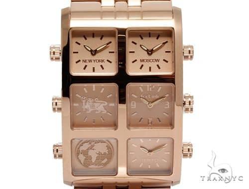 IceLink Yerevan Edition Aria 6TZ Mens Rose Gold Watch 63973 IceLink Watches