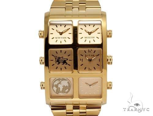 IceLink Vanna 6TZ Mens Gold Watch 63974 IceLink Watches