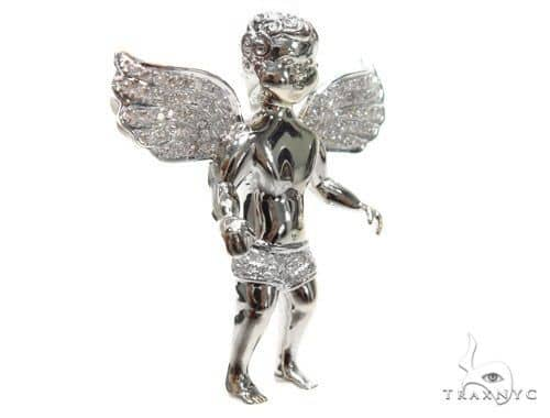 Angel Diamond Pendant 41197 Metal