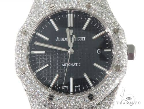 8427df6e817 Full Diamond Royal Oak 41mm Audemars Piguet Watch 64057 Audemars Piguet  Watches