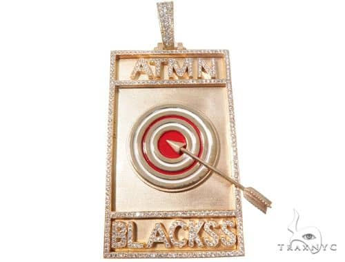 Custom Diamond Pendant 64106 Metal