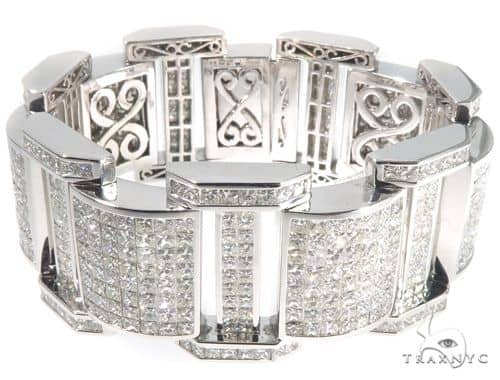 Invisible Channel Diamond Bracelet 64111 Diamond