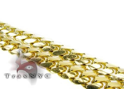 10K Solid Yellow Gold Miami Chain 26 Inches 6mm 80.1 Grams 64115 Gold