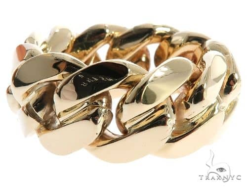 Miami Cuban Link Ring 10mm 64135 Metal