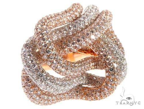 Two Tone Diamond Ring 64154 Anniversary/Fashion
