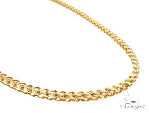 Solid Franco Link Chain 26 Inches 4mm 50.0 Grams Gold