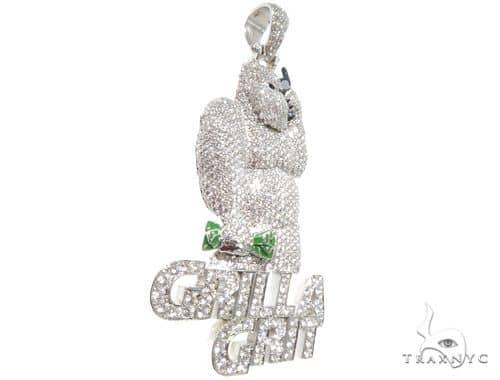 Custom Diamond Pendant Metal