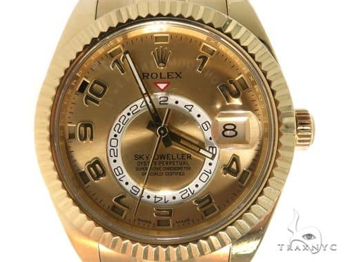 Rolex Sky Dweller Yellow Gold