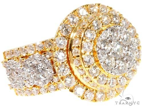 Cluster Diamond Ring 64195 Stone