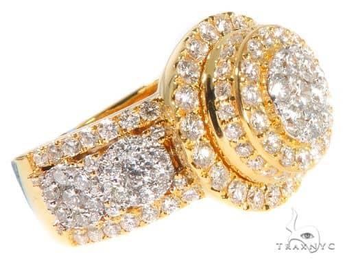 Cluster Diamond Ring 64195 Stone