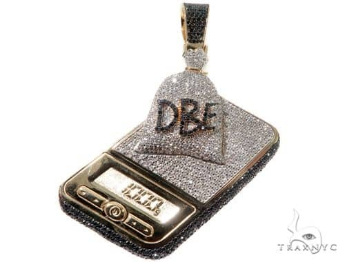 Custom Scale 1 Kilo Bag DBE Black Diamond Pendant Metal