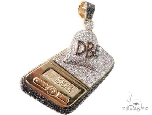 Custom Scale 1 Kilo Bag DBE Black Diamond Pendant Metal