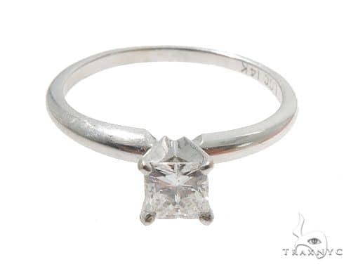 Princess Cut Diamond Solitaire Engagement Ladies Ring 64374 Engagement