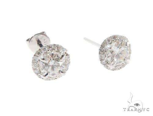 Diamond Earrings 64378 Stone