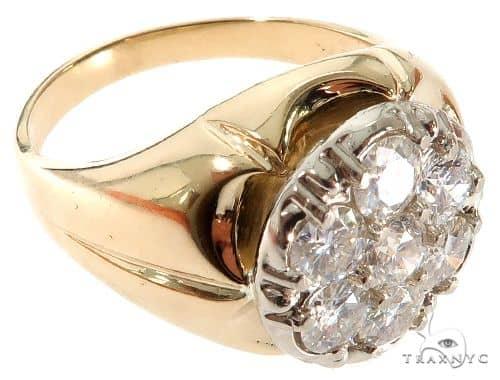 Prong Diamond Band 64380 Metal