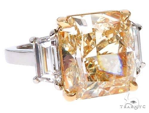 Sunrise Beam Diamond Engagement Ring Engagement