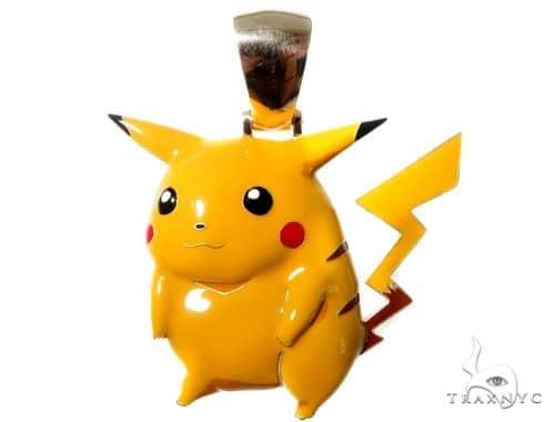 Custom Pikachu Pendant Metal