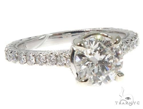 Custom Diamond Engagement Ring Engagement