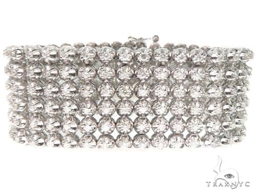 6 Row Diamond Bracelet 64520 Diamond
