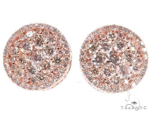Diamond Stud Earrings 64530 Stone