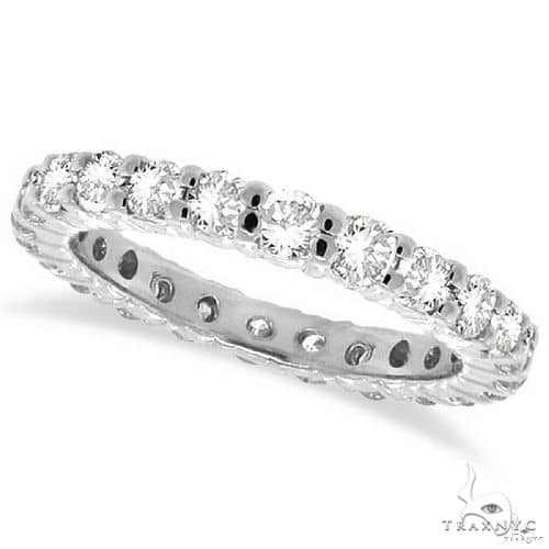 Platinum Diamond Eternity Band 64548 Wedding