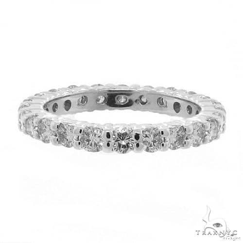 Platinum Diamond Eternity Band 64548 Wedding