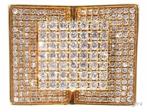 Micro Pave Diamond Ring 64661 Stone