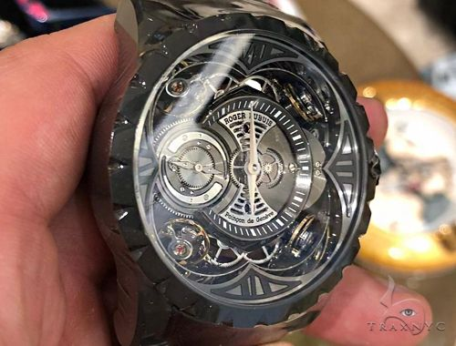 Roger Dubuis Excalibur Quatuor with four sprung balances 64713 Special Watches