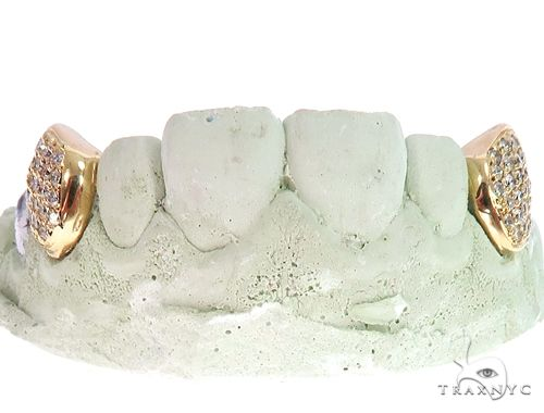 10k Yellow Gold Diamond Fangs 64723 Men Specials