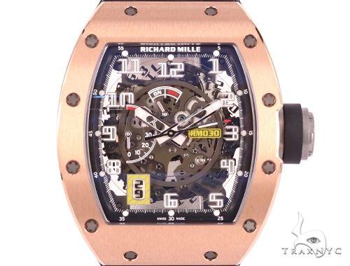Richard Mille RM030 18K Rose Gold & Titanium Watch 64694 Richard Mille