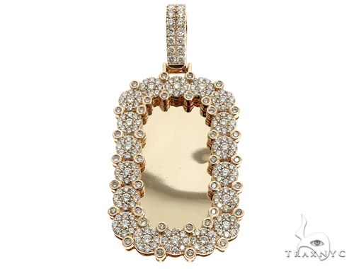 14k YG Diamond Keepsake Pendant 64748 Metal