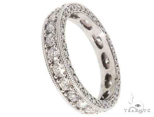 Platinum Diamond Eternity Band 64756 Wedding