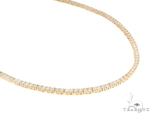 Aaron Hicks 14K Yellow Gold Diamond Chain 64777 Diamond
