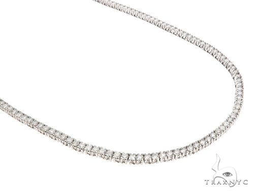 Aaron Hicks 14k White Gold Diamond Chain 64778 Diamond