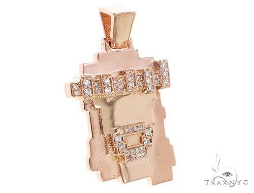 Prong Diamond Lego-Style Jesus Piece 64844 Metal