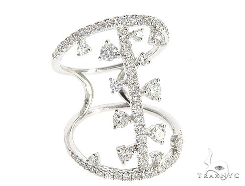 14k White Gold Diamond Ring 64936 Anniversary/Fashion