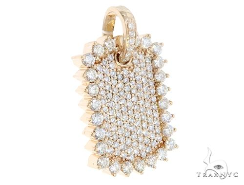 14k Yellow Gold Diamond Pendant 64956 Metal