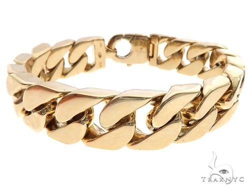 14k Yellow Gold Braccio Bracelet 65018 Gold